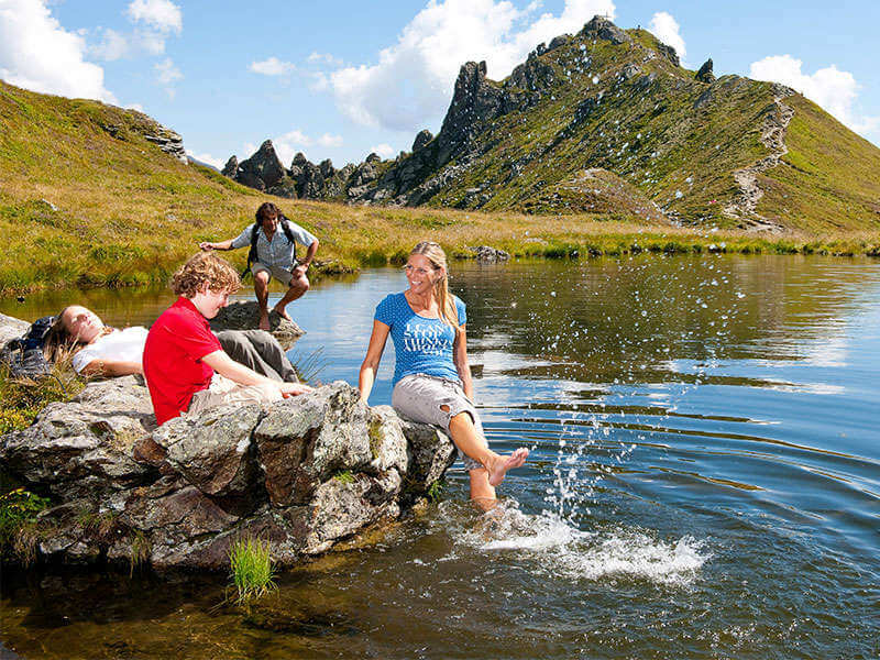 A holiday with your child in Salzburger Land
