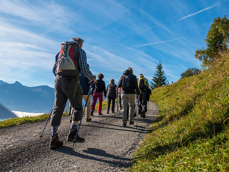 Hiking in Bad Hofgastein and Gastein Valley